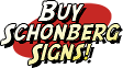 Buy Schonberg Signs from Desperate Enterprises